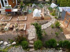 My veg garden circa 2011