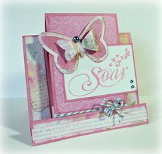 Rose Blossom Legacies: Soar (July Stamp of the Month and Lucy paper)
