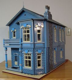 If I were in miniland, I'd live in a Victorian house by Rae | The Brothers Brick | LEGO Blog