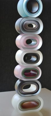 This is such a wonderful piece.. Check out the Gallery Web Page! It's worth the look!! Dominic Burrell   glass