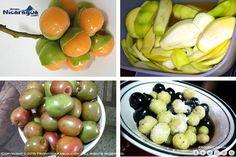 antojos de esas frutas tan acidamente DELICIOSAS!!!! Mamones, Mango verde, jocotes, groseas y coyolitos :-)