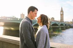 engagement love story pre wedding couples photo shoot London autumn Westminster Big Ben (15)