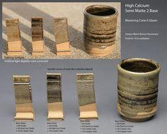 Semi Matte 2, Rutile, RIO, Cobalt Carb., Copper Carb.