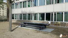 Picknickset Standaard Antraciet-Beton XL bij Spring Exploitatie Services BV in Barendrecht Xl, Outdoor Furniture, Outdoor Decor, Bench, Home Decor, Interior Design, Home Interior Design, Desk, Yard Furniture