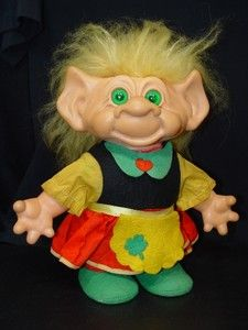 11 inch Troll doll from the 1960's.