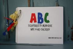 ABC Printable Scripture Cards. What a fun way to practice scriptures with your kids!