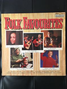 A personal favourite from my Etsy shop https://www.etsy.com/uk/listing/499156838/folk-favourites-original-vinyl-album