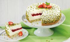 Kleiner Erdbeertraum Rezept: Torte mit Quark-Mascarponecreme und Erdbeeren - Eins von 7.000 leckeren, gelingsicheren Rezepten von Dr. Oetker!