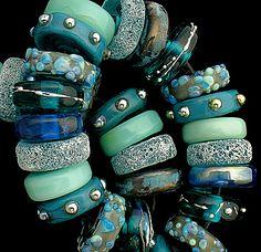 DSG Beads Handmade Organic Lampwork Glass Siren   eBay