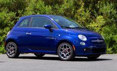 2013 Fiat 500 Sport Blue