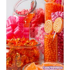 Orange and Pink Candy