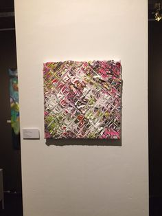 Abstract work at the vault17 gallery amsterdam