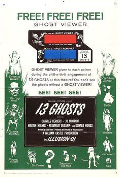 13 Ghosts (1960) USA Columbia Horror D/Prod: William Castle. 08/02/04