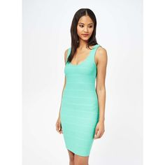 5bcde31befb Miss Selfridge Bandage Bodycon Dress ( 14) ❤ liked on Polyvore featuring  dresses