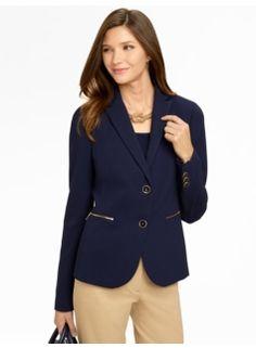 Zip-Pocket Jacket