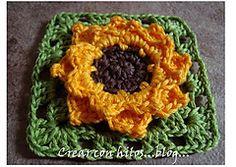 Ravelry: Granny Girasol (Sunflower) pattern by Bigú Osuna... Free pattern!