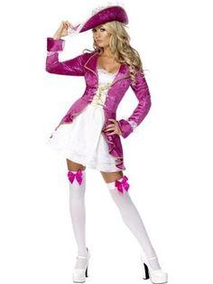 Kapteeni Kuumattaren asu. Muodollisesti pätevä minkä tahansa valtamerialuksen ruoriin. #naamiaismaailma Sleeping Beauty Princess, Full Set, Halloween Costumes, Asu, Sexy, Fashion, Moda, Fashion Styles, Halloween Costumes Uk