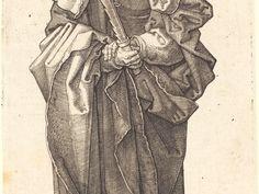 Albrecht Dürer, 'Saint Simon,' 1523, National Gallery of Art, Washington, D.C.