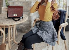 #kfashion  #skirt  #girl  #seoul  #korean girl  #photography  #blouse  #white  #lace  #hairstyle  #korea  #style  #top  #knit  #legging  #ulzzang  #kstyle  #model  #collar  #purse  #ulzzang girl  #korean  #fashion  #black  #boots  #korean fashion  #hair  #yellow  #grey  #bag