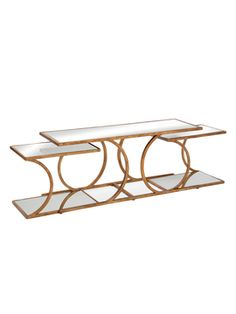 Clement Nesting Cocktail Table from Luxe on a Budget on Gilt