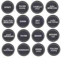 1000 images about labels on pinterest spice jar labels for Bookmark creator jar