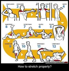 How to stretch properly?