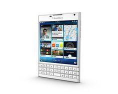 "BlackBerry Passport Qwerty - Smartphone 4G de 4.5"" (1440 x 1440 píxeles, 32 GB), color blanco"