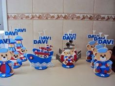 Nautical Baby, Nautical Theme, Titanic Cake, Baby Shower Marinero, Moldes Para Baby Shower, Pirate Party, Diy And Crafts, Centerpieces, Kids