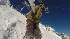 Snowboard Jumping into 2017 Borovets