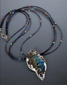 Rainbow Titanium Jewelry by HollyGage.com