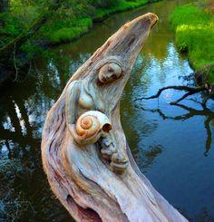 Les Sculptures de Debra Bernier racontent les Histoires oubliées de l'Océan (15)