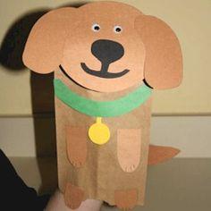 Paper Bag Dog Puppet puppy puppet template The post Paper Bag Dog Puppet appeared first on Paper Diy. Classroom Crafts, Preschool Crafts, Preschool Books, Preschool Christmas, Toddler Crafts, Crafts For Kids, Puppy Crafts, Paper Bag Crafts, Paper Bag Puppets