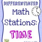 This is a bundle of 4 math stations on reading clock time.  Each station is a bit more challenging than the next, giving both teachers and students...
