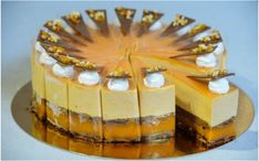 Country Cake 2015 - The Pannonhalma apricot brandy caramel cake recipe (with photos phases) Hungarian Desserts, Hungarian Recipes, Apricot Brandy, Cake Recipes, Dessert Recipes, Torte Cake, Cakes And More, Creative Food, Cake Cookies
