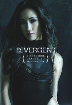 Divergent Movie~ Maggie Q as Tori.. I love Maggie Q!!! She is a perfect Tori!! :D