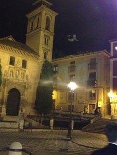 Plaza de Santa Ana en Granada, Andalucía