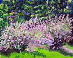 Buy Lilac Whispers, Oil painting by Christina M Plichta on Artfinder. Discover thousands of other original paintings, prints, sculptures and photography from independent artists. Fast Growing Shrubs, Minnesota Landscaping, Lavender Blossoms, Lilac Bushes, Oil Painting On Canvas, Impressionist, Original Paintings, Sculptures, Cottage