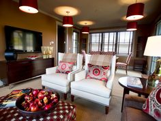HGTV Dream Home 2012 Family Room | Pictures and Video From HGTV Dream Home 2012 | HGTV