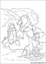 brother bear coloring pages on coloring-book.info | i like to ... - Coloring Pages Coloring Book Info