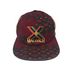 1990s Malcolm X Tribal snapback by VTG4SALE