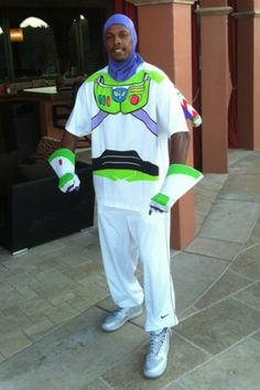Paul Pierce Gets His Buzz Lightyear On