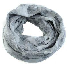 shawl sterren grijs