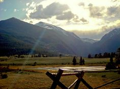 Rocky Mountain National Park, Estes Park.  My holy place. Every road trip has a stop here.