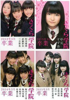 Sakura gakuin graduates photo book covers