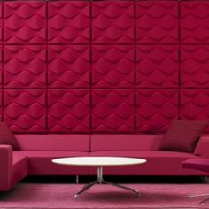 "We Present Acoustic Panels ""Soundwave Flo"" Designed By The Great ..."