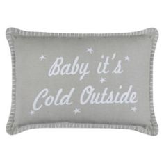 Park+B.+Smith+''Baby+it's+Cold+Outside''+Throw+Pillow