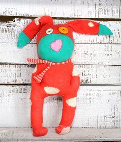 Sockenhase,Softtoys, Hase Heinz...die coole Socke.. von LiebensWert auf DaWanda.com