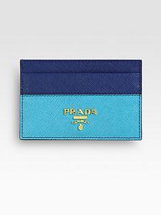 prada inspired card case