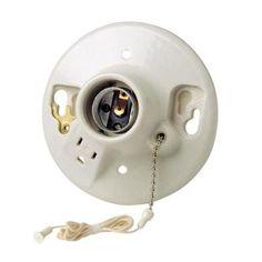 Interruptor De Porcelana Superficie Modular Retro