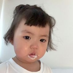 Cute Asian Babies, Korean Babies, Asian Kids, Cute Baby Meme, Baby Memes, Cute Little Baby, Little Babies, Baby Kids, Cute Baby Girl Pictures